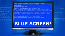 Blue screen error repairs by Ashbourne PC - Brian Prendergast - Computer faults repaired
