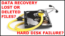 Data Recovery by Ashbourne PC - Brian Prendergast - Recover lost files from your hard disk caused by a virus or fault